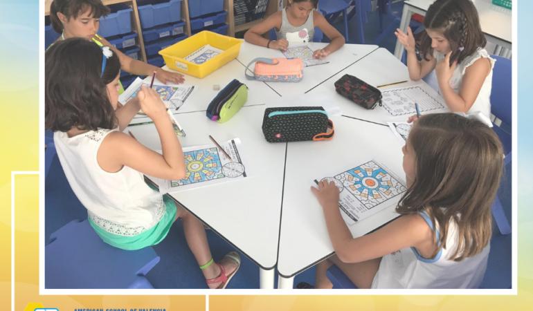 Aula de Preschool. Summer Program